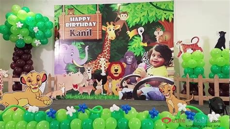 Best ideas for Jungle Theme Birthday Party Jungle Theme