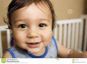 Baby Boy Laughing Stock Image - Image: 6011831
