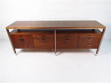 modern furniture credenza mid century modern office credenza by directional at 1stdibs