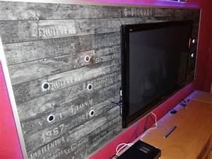 Tv Wand Selber Bauen Laminat