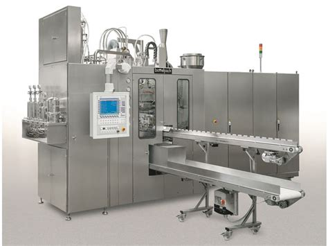 bottelpack blow fill seal aseptic ampoule filling machine contact rommelag