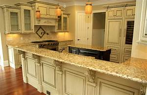 antique glazed cabinetry traditional kitchen other With kitchen colors with white cabinets with antique white candle holders