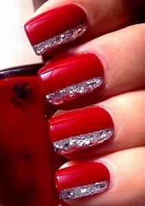 Red nails design | Nail ideas | Pinterest | Nail design ...