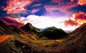 Mountain Landscape Photography Sunset | siudy.net