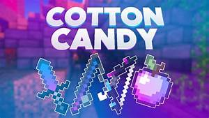 REVIEW TEXTURE PACK PVP MINECRAFT QuotCOTTON CANDY 16x