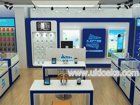 design cell phone shop furniture accessories retail