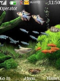Animated Aquarium Wallpaper For Mobile - animated aquarium nokia theme mobile toones