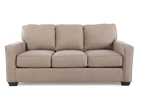 Contemporary Sofa Sleepers by Contemporary 76 Quot Sleeper Sofa In Light Brown Mathis