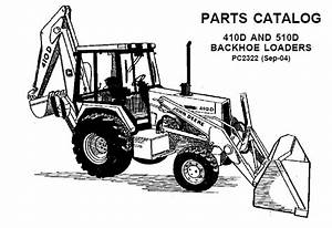 John Deere 410d And 510d Backhoe Loaders Parts Catalog