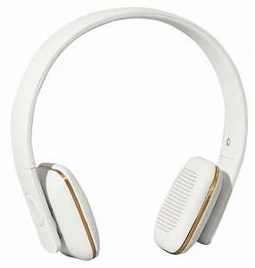 Casque Audio Long Fil : casque audio sans fil a head bluetooth blanc kreafunk ~ Edinachiropracticcenter.com Idées de Décoration