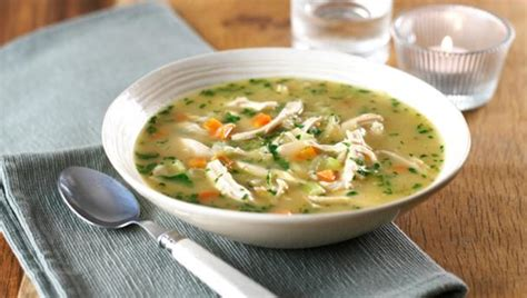 cooking chicken in broth bbc food chicken soup recipes