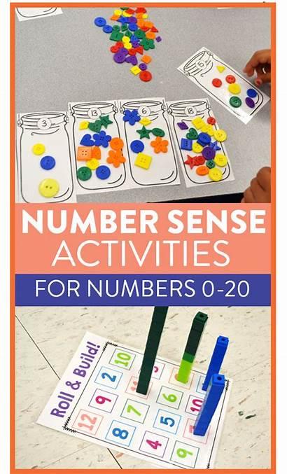 Activities Number Sense Hands Kindergarten Games Grade