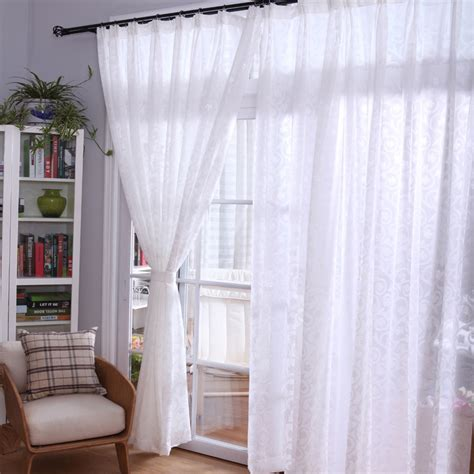 Sheer Drapes by Drapes Sheer Drapes And Curtains With Delicate Flower