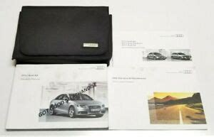 audi  owners manual guide premium prestige