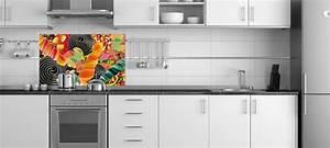 Credence Cuisine Originale : credence pour cuisine plan de travail noir et credence ~ Premium-room.com Idées de Décoration