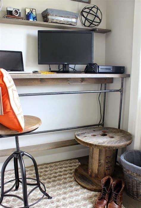fabriquer bureau bois fabriquer bureau bois meilleures images d 39 inspiration