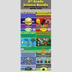 4th Grade Science Bundle Entire Year  Tpt Science Lessons  4th Grade Science, 4th Grade