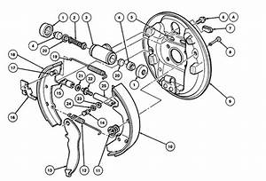 Ford Focus Brake Drum Diagram