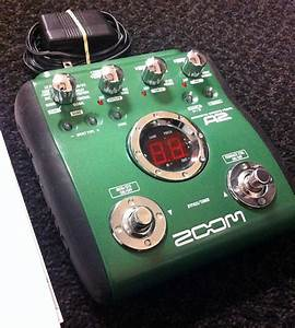 Zoom A2 Acoustic Guitar Simulator W   Power Supply And