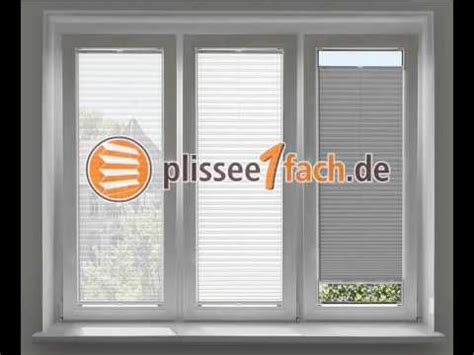 Plissee Rollo Transparent by Plissee Am Fenster