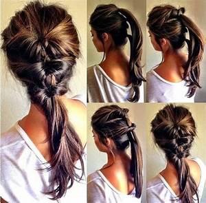 Coiffure Simple Femme : coiffure simple et facile pour femme coiffure 2014 coiffure simple et facile ~ Melissatoandfro.com Idées de Décoration