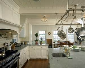 kitchen island with hanging pot rack a quot something 39 s gotta give quot house on martha 39 s vineyard