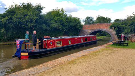Canal Boat by Uk Narrowboat Barge Holidays Black Prince Narrowboats
