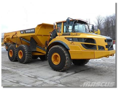 Volvo Articulated Dump Truck by Used Volvo A40g Articulated Dump Truck Adt Year 2014