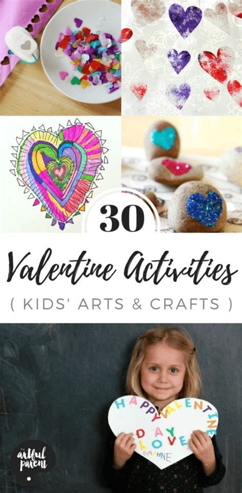 30 Valentine Crafts and Activities for Kids (with