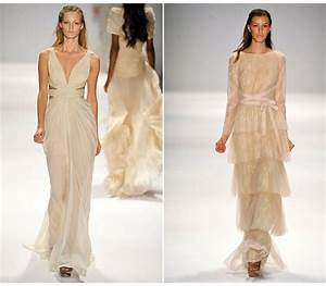 beige wedding dresses spring 2012 onewedcom With simple beige wedding dresses