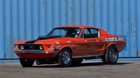 ford cobra jet mustang 1968 ford mustang cobra jet lightweight s120 kissimmee