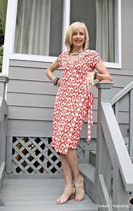Fashion Over 50: Wrap Dress - Southern Hospitality