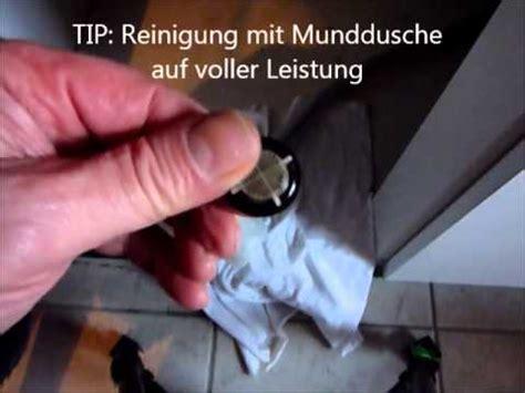 waschmaschine kein wasser waschmaschine teil 7 reparatur sieb verstopft wasserhahn