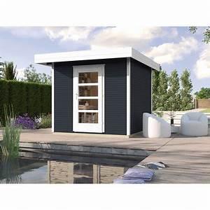 Holz Farbe Anthrazit : weka holz gartenhaus wekaline anthrazit 240 cm x 235 cm kaufen bei obi ~ Orissabook.com Haus und Dekorationen