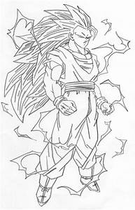 Super Saiyan 3 Goku By Sharingan Kyuubi On Deviantart