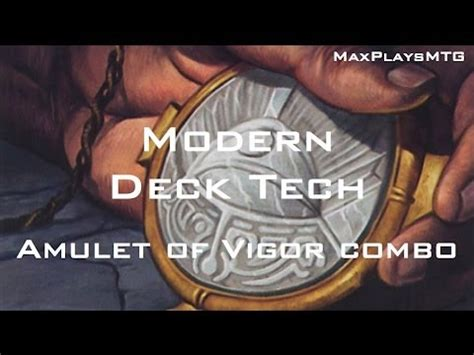 Amulet Of Vigor Deck Tech by Mtg Modern Deck Tech Amulet Of Vigor Combo