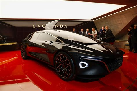Aston Martin Surprises Geneva With Electric Lagonda Vision