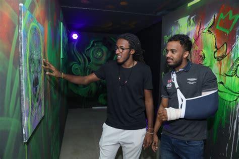 street art show puts au student talent  display