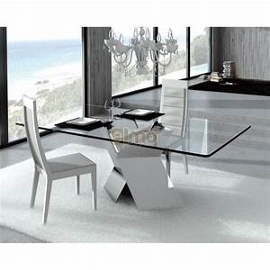 Pinterest o the worlds catalog of ideas for Table salle a manger verre