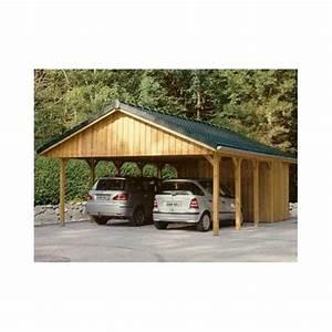 Carport Avec Abri : garages et carports en bois tous les fournisseurs garages en bois box voiture bois ~ Melissatoandfro.com Idées de Décoration