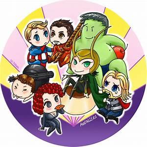 Baby Avengers by yanhualuan on DeviantArt