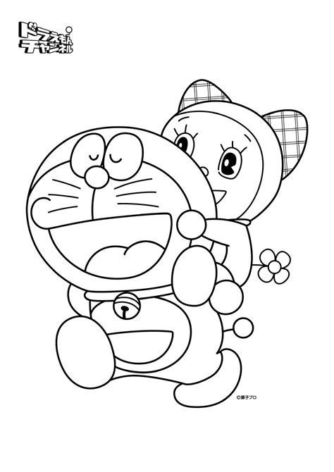Coloring Doraemon by Coloring Book Doraemon