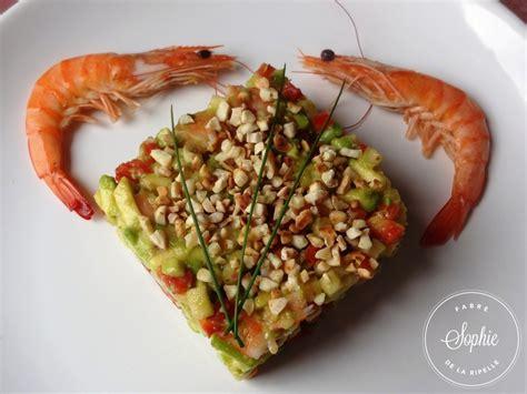 cuisiner les marrons frais salade raffinée avocat crevettes la tendresse en cuisine