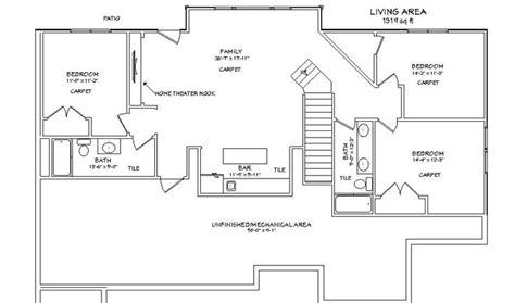 images  home floor plans  basement  pinterest house plans finished