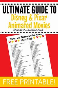 Guide To Disney And Pixar Animated Movies In 2020