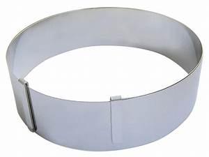 Cadre Inox Pour Plaque Vitroceramique : cadre rond extensible inox pour p tisseries tom press ~ Premium-room.com Idées de Décoration