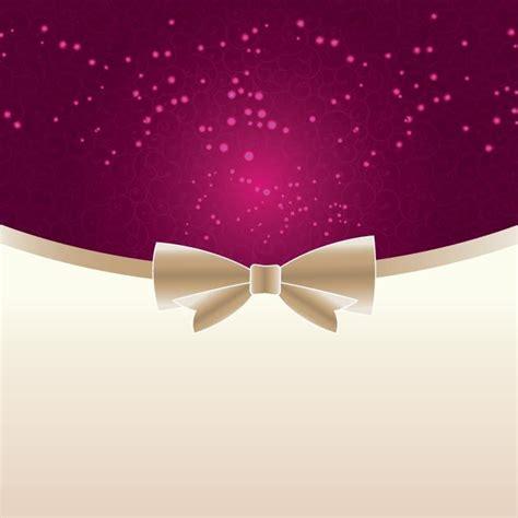 Free Vector Pink Elegant background Invitation / Greeting