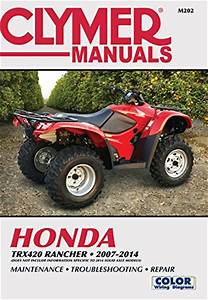 Clymer Manual  Honda Trx420 Rancher