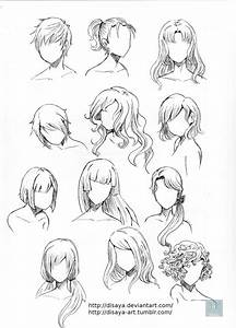 Hair reference 3 by Disaya on DeviantArt