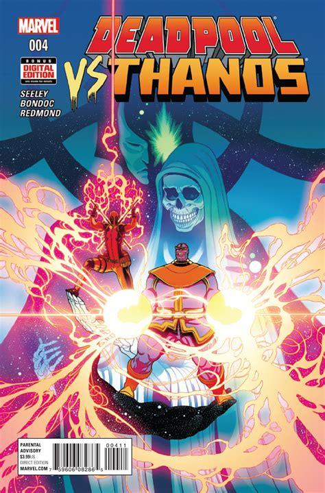 Deadpool Vs Thanos Vol 1 4  Marvel Database Fandom